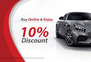 Buy Insurance Online & Enjoy 10% Discount for Your Motor Car